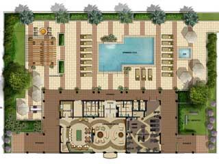 Mercato Naples Fl community clubhouse plan