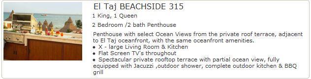 El Taj Beachfront 315