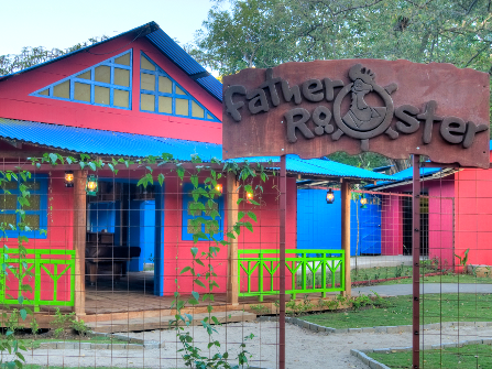 Father Rooster's Restaurant, Playa Ocotal, Costa Rica