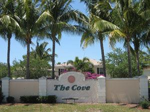 The Cove Naples Fl community sign