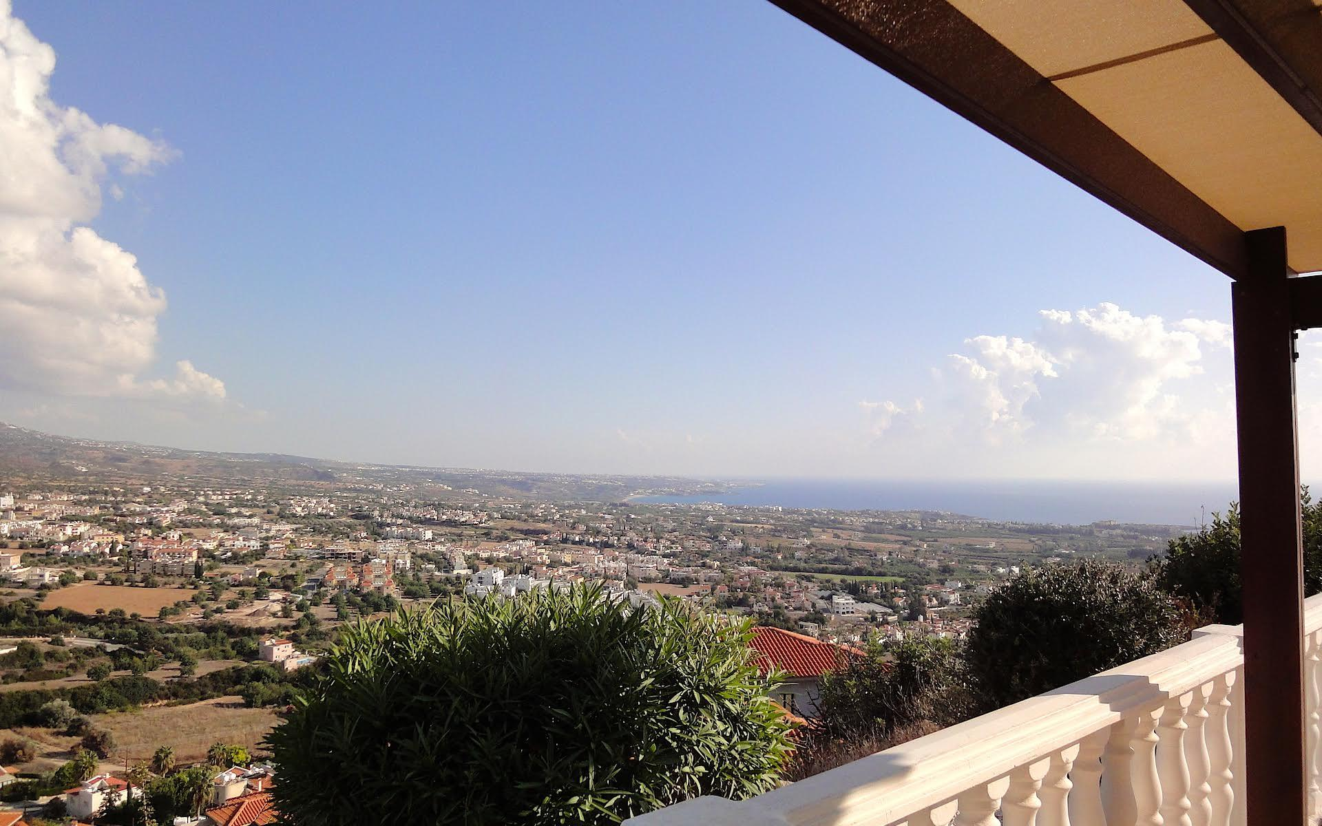 View from a Peyia property sold