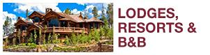 Lodges, Resorts, and B&B