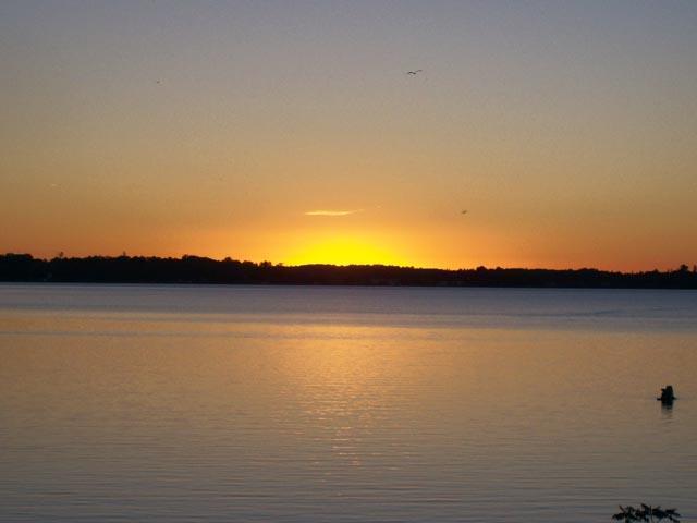 Kawartha Lakes Real Estate - Sunset on Cameron Lake
