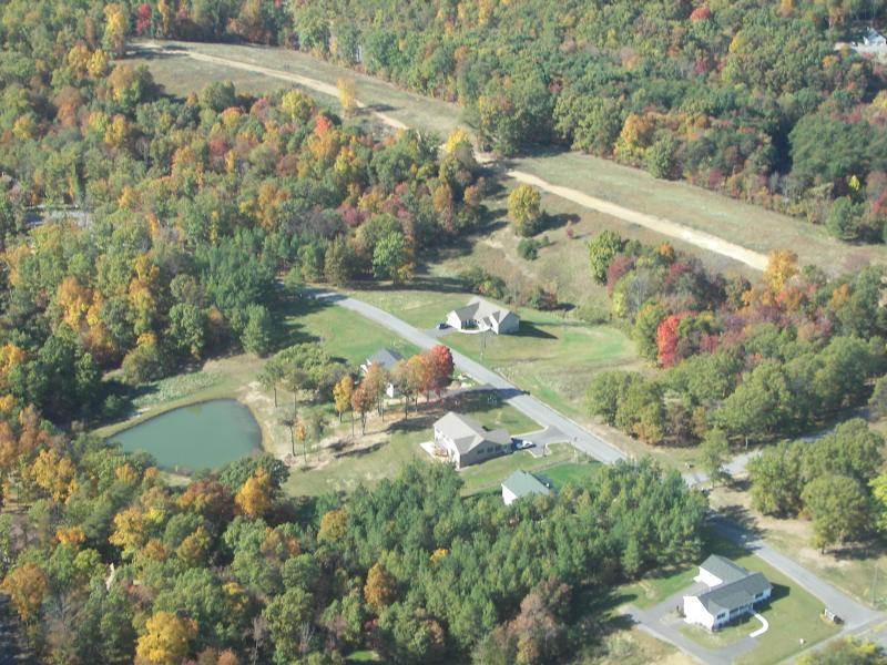 Aerial view of Fairview Oaks - October 2008