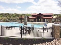 A view of the Reunion Ranch amenity center in SW Austin