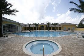 the cascades pool in world golf village in st augustine