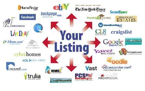 Sellers...your home for sale will be advertised on ALL of these websites when you list with me.