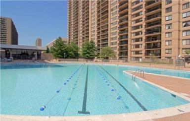 Skyline Plaza swimming Pool, Falls Church, 22041, 3701-3705 George Mason Dr.