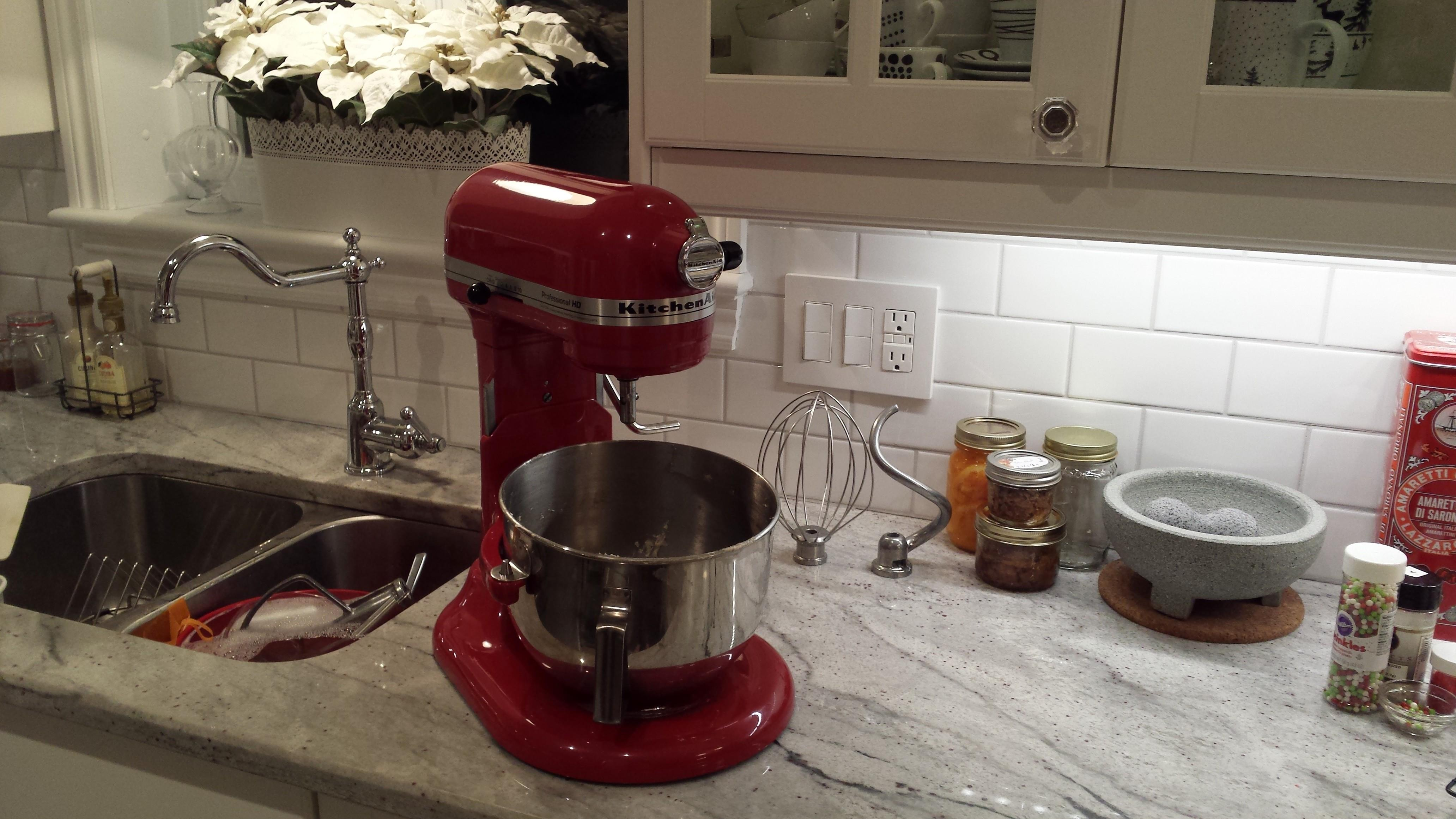 My indispensible KitchenAid Professional Stand Mixer!