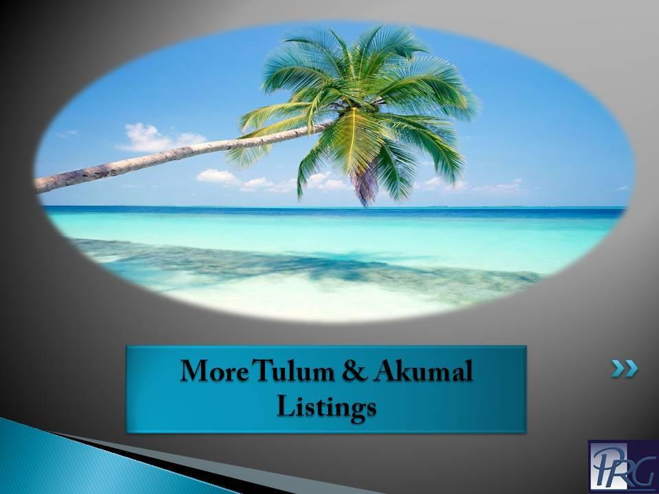 Tulum and Akumal Real Estate