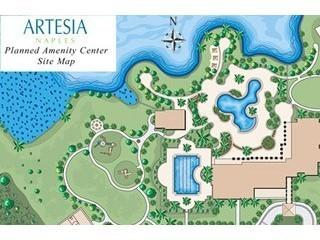 Artesia Naples Fl amenities siteplan
