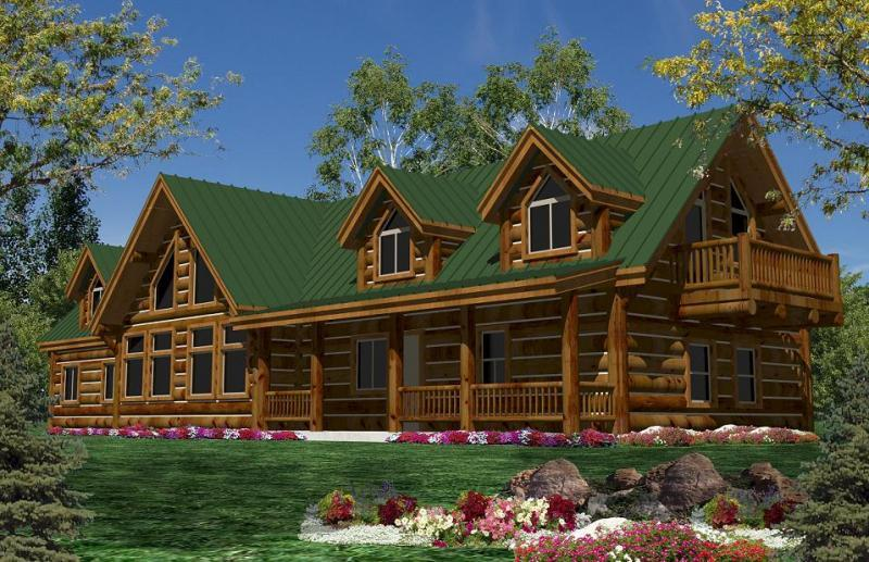California Log Homeslog Home Floorplans Calog Plans Ca Homes Floor