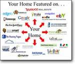 Hillstrom Real Estate markets homes throughout the Internet.