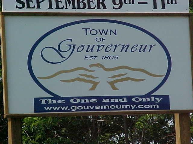 Welcome to Gouverneur