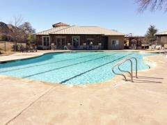The original pool at the Paloma Lake Swim and Community Center