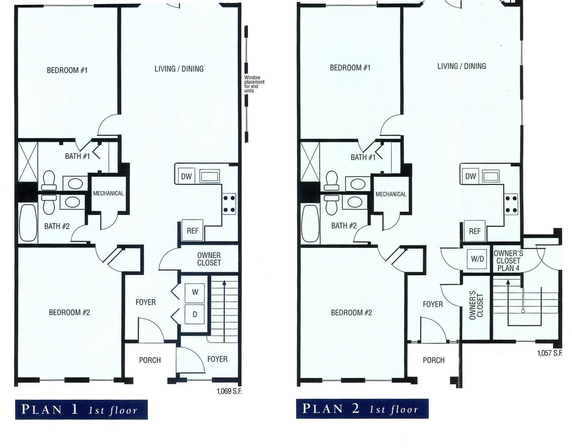 floor plans for turnberry park