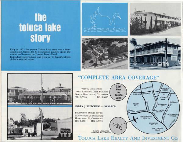 Toluca Lake CA Real Estate