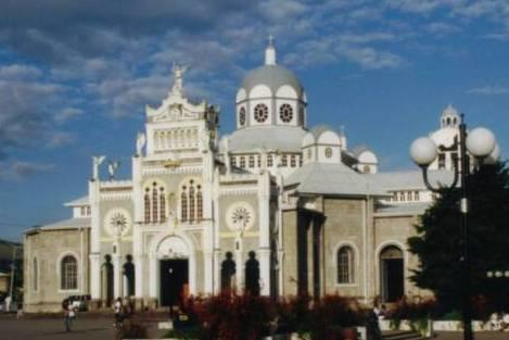 Cartago Cathedral,Costa Rica