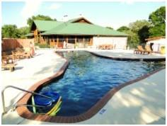 This is one of the 3 pools at the Rancher's Club in La Ventana, Driftwood, TX.
