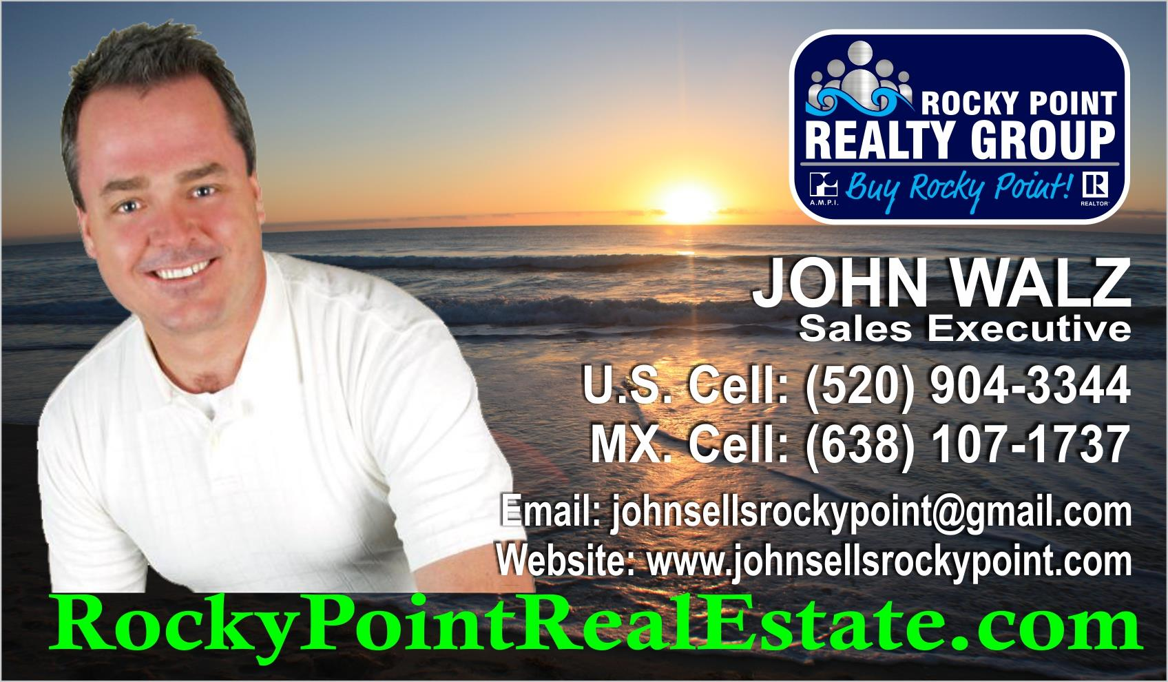 Rocky Point Real Estate - John Walz - Realtor