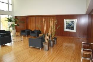 Solstice condominium lobby