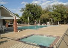The community pool in the Coves of Cimarron in Buda 78610.