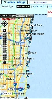 Search Florida MLS listings by map