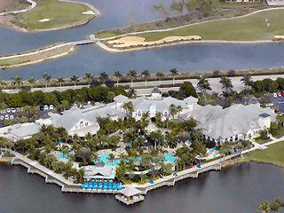Fiddlers Creek Naples Fl community clubhouse aerial view