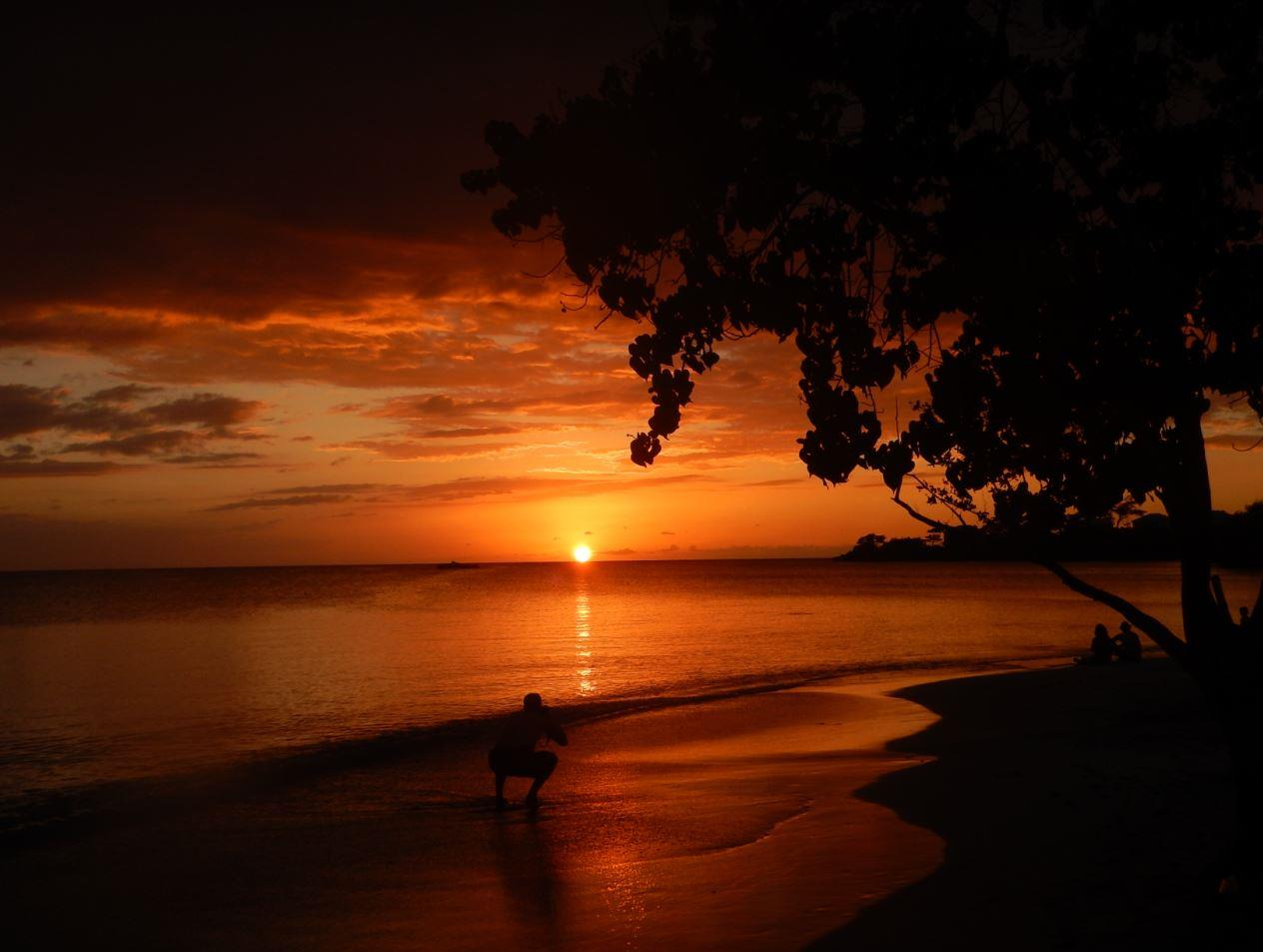 Sunset - Riu Club Negril, Jamaica