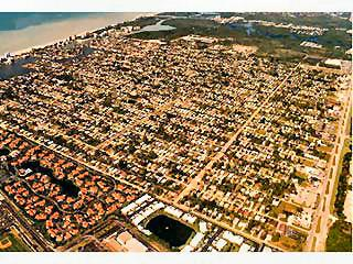 Naples Park Florida aerial view