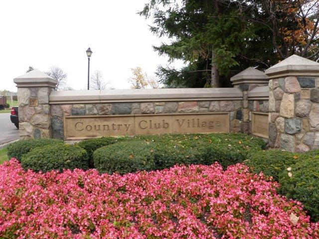 Country Club Village of Northville Michigan