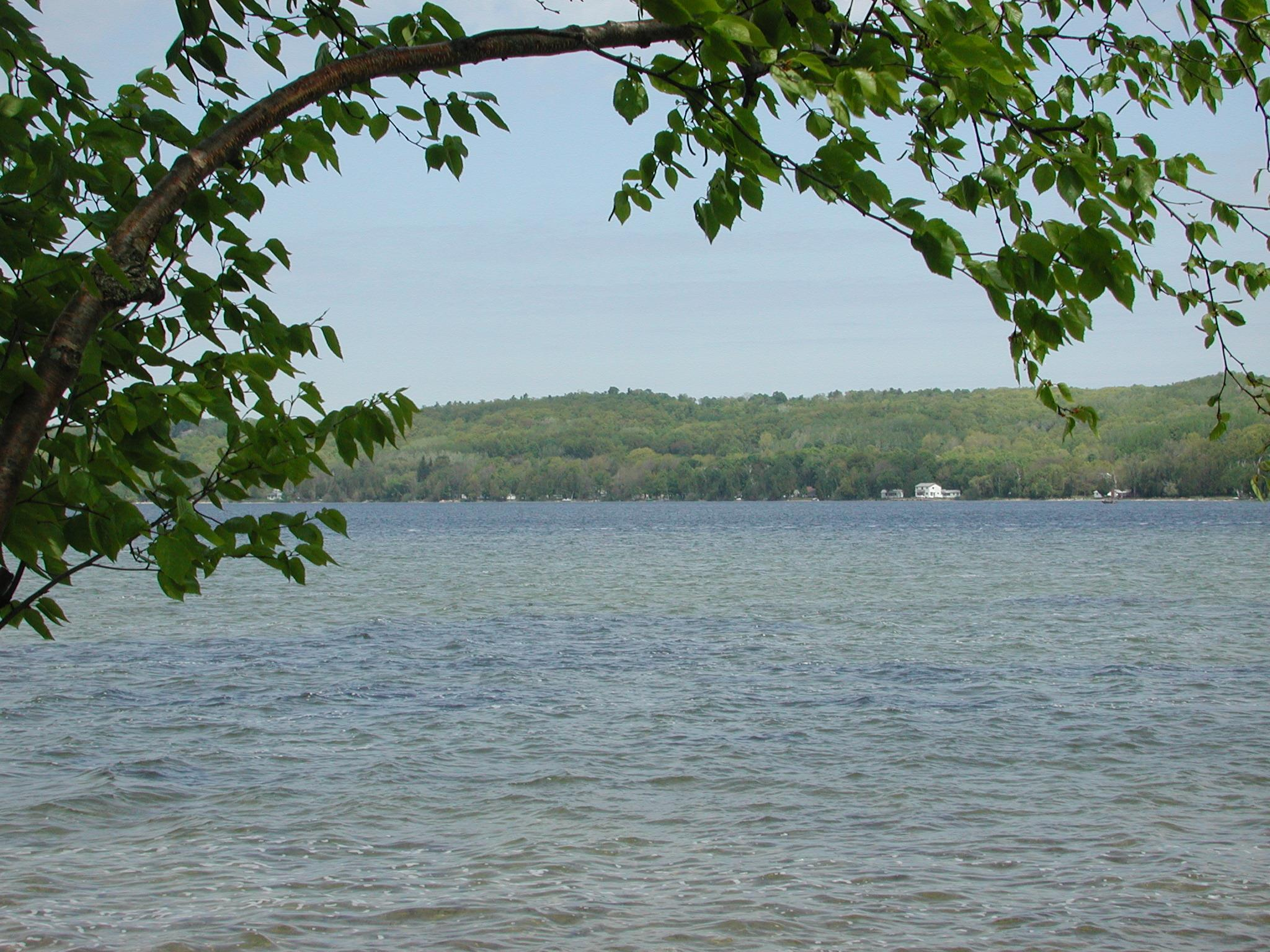 Herring Lake in Northen Michigan Benzie County Area