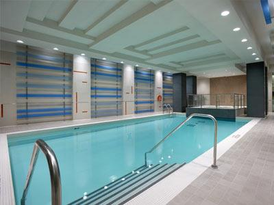 Ultra Ovation Mississauga indoor swimming pool