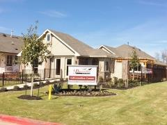 Model Home at Buda's Stonewood Commons subdivision