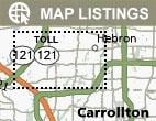 Search Carrollton Homes by Map