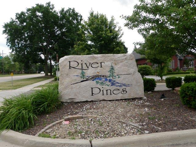 River Pines Livonia Michigan Sub Entrance Rock