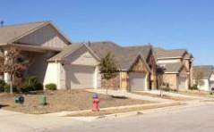 Homes in the Shadow Pointe neighborhood in Round Rock