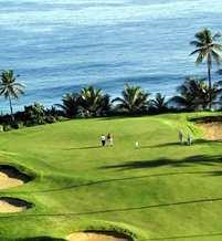 Golf Courses and Beach at Dorado, Puerto Rico