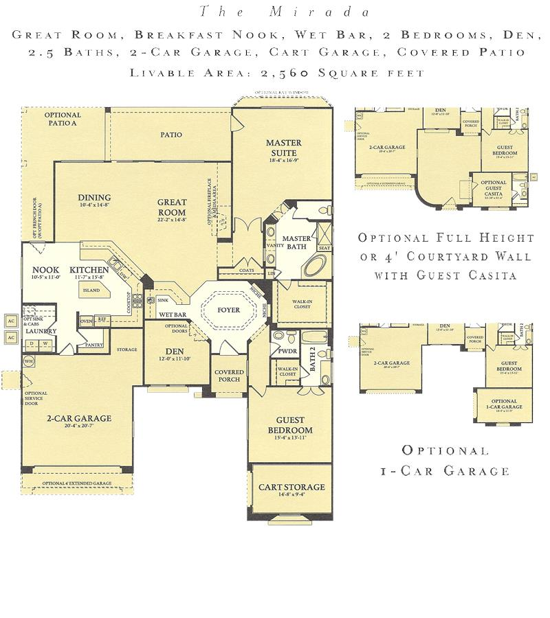 Corte Bella Mirada floor plan model