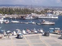 View of Paphos Harbour