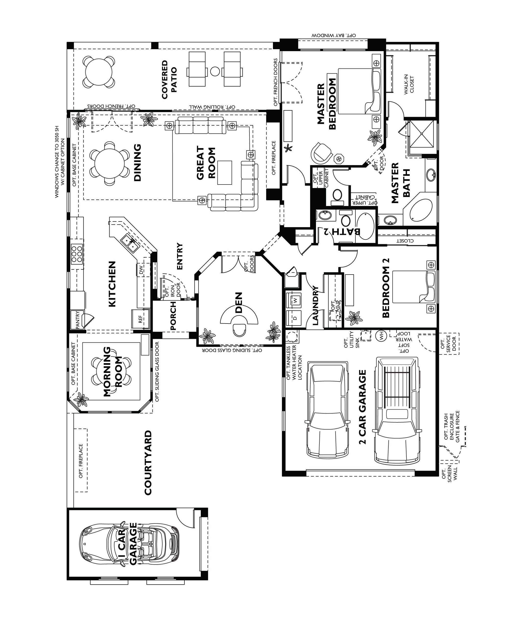 Trilogy at vistancia cadiz floor plan model home