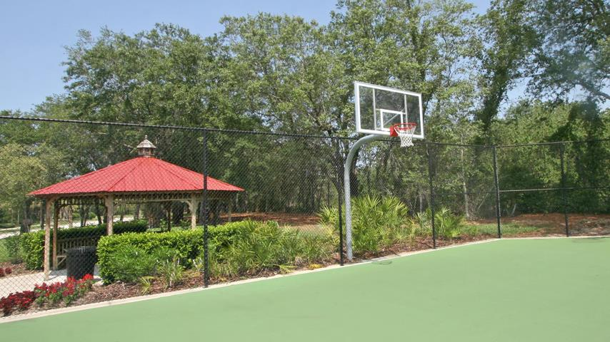 Emerald Island Basketball Court