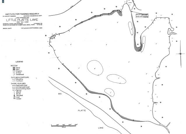 Little Platte Lake Map