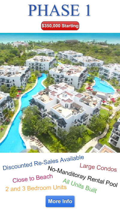 Azul Fives Phase 1 For Sale