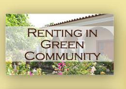 Renting in Green Community