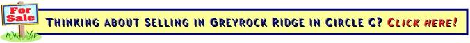 Selling your Home in Greyrock Ridge?