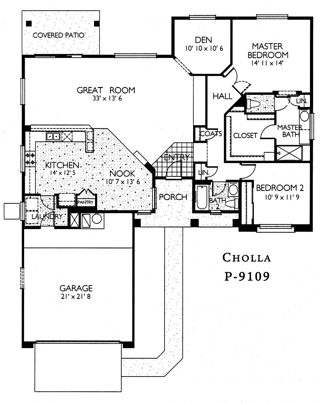 Sun City Grand Cholla floor plan, Del Webb Sun City Grand Floor Plan Model Home House Plans Floorplans Models in Surprise Phoenix Arizona AZ Ken Meade Realty Kathy Anderson