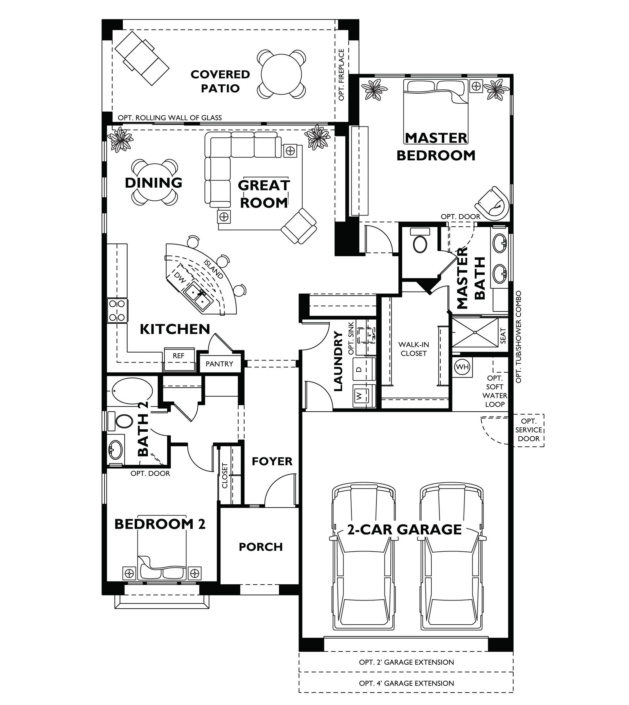 Model house plans Home design and layout