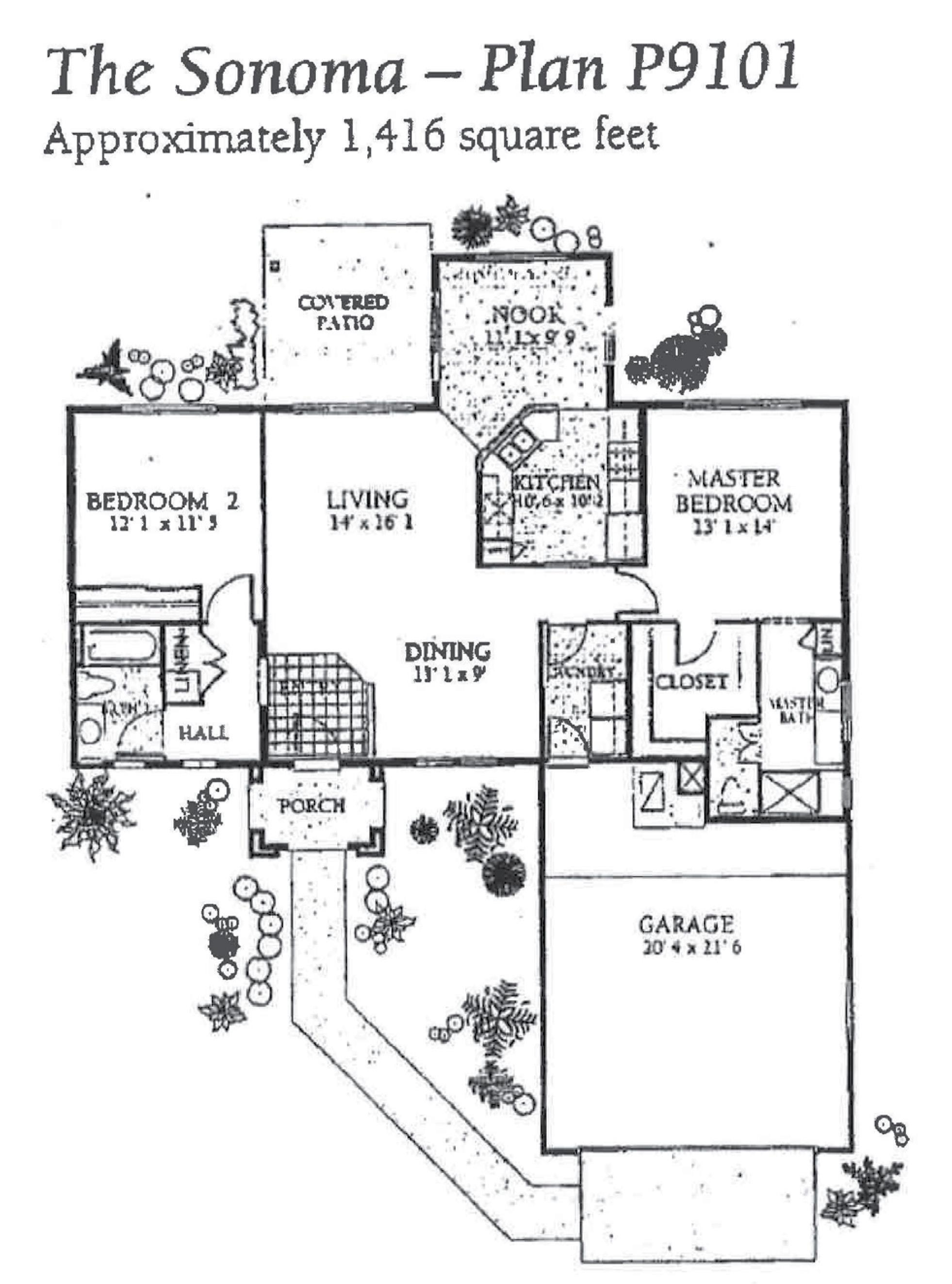 Sun City Grand Sonoma Floor Plan Del Webb Sun City Grand Floor Plan