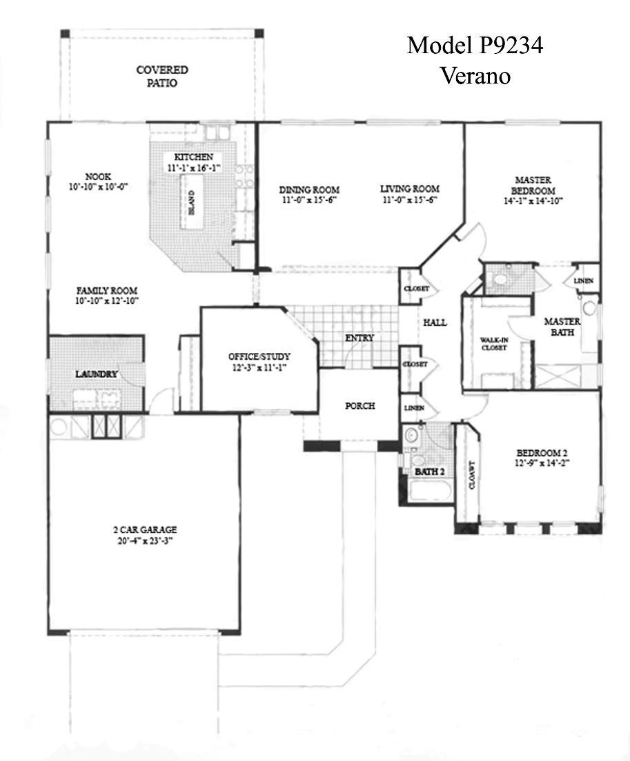 Sun City Grand Verano floor plan, Del Webb Sun City Grand Floor Plan Model Home House Plans Floorplans Models in Surprise Phoenix Arizona AZ Ken Meade Realty Kathy Anderson
